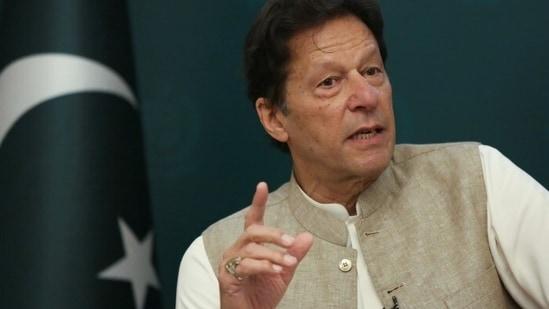Imran Khan said Pakistan has started a dialogue with the Taliban.