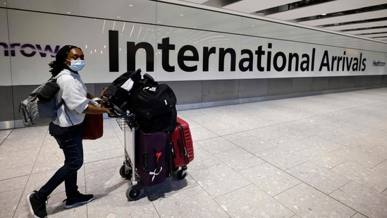 Passengers who aren't recognised as being fully vaccinated under UK's international travel rules will still have to take a pre-departure test, a day two and day eight PCR test, and self-isolate for 10 days(AFP)