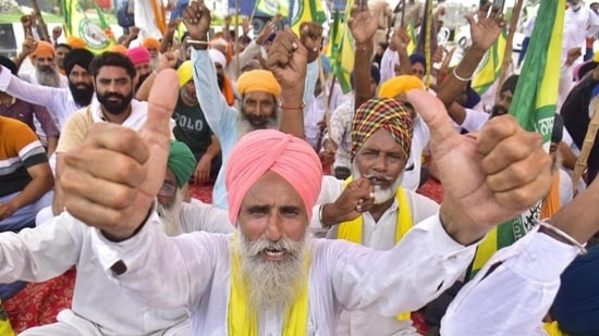 Farmers' bodies, under the banner of Samyukt Kisan Morcha, have been protesting against the farm laws.