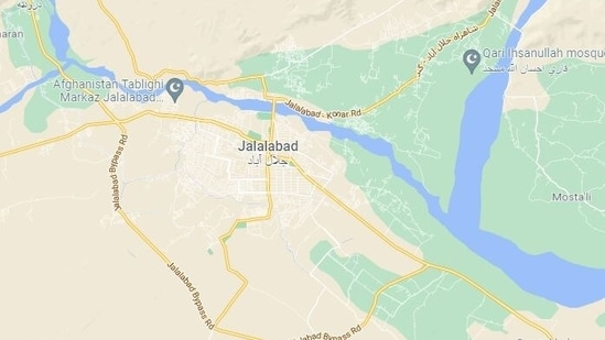 Jalalabad is about 80 miles from Kabul.