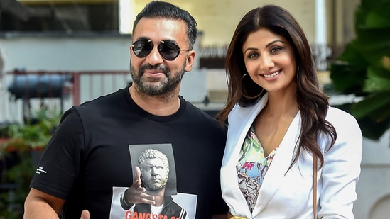 Shilpa Shetty and Raj Kundra have been married for several years.(PTI)