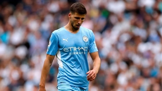 Guardiola says defender Dias added to City's leadership group(Action Images via Reuters)