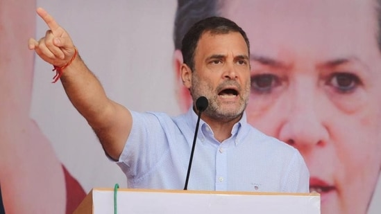 Rahul Gandhi attended the social media department meeting and urged party workers to continue their fight against the ruling dispensation with humility, truth and love.