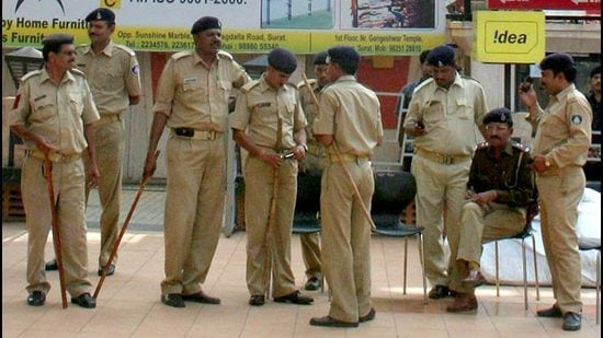 Thane Police gets custody of Dawood aide Tariq Parveen on Saturday. (FOR REPRESENTATIONAL PURPOSES ONLY) (HT PHOTO)