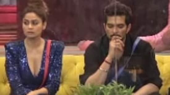 Bigg Boss OTT: Shamita Shetty and Raqesh Bapat inside the house.