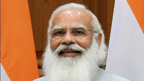 """The Saamana editorial said PM Modi was taking """"bold"""" steps and doing the """"repair work"""" ahead of the 2024 general elections. The Saamana editorial, however, slammed Union minister Amit Shah saying he lost West Bengal election for BJP and lost 25-year-old ally Shiv Sena when he was at the helm. (HT FILE)"""