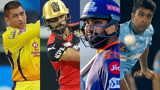All eyes would be on MS Dhoni, Virat Kohli, Rohit Sharma and R Ashwin.(Twitter)