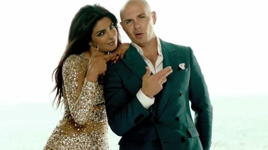Priyanka Chopra collaborated with Pitbull on their song Exotic.