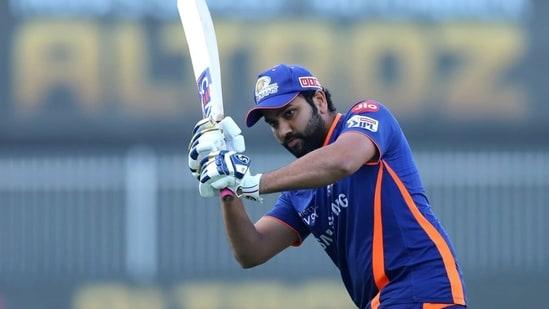Mumbai Indians captain Rohit Sharma.(Mumbai Indians/Twitter)