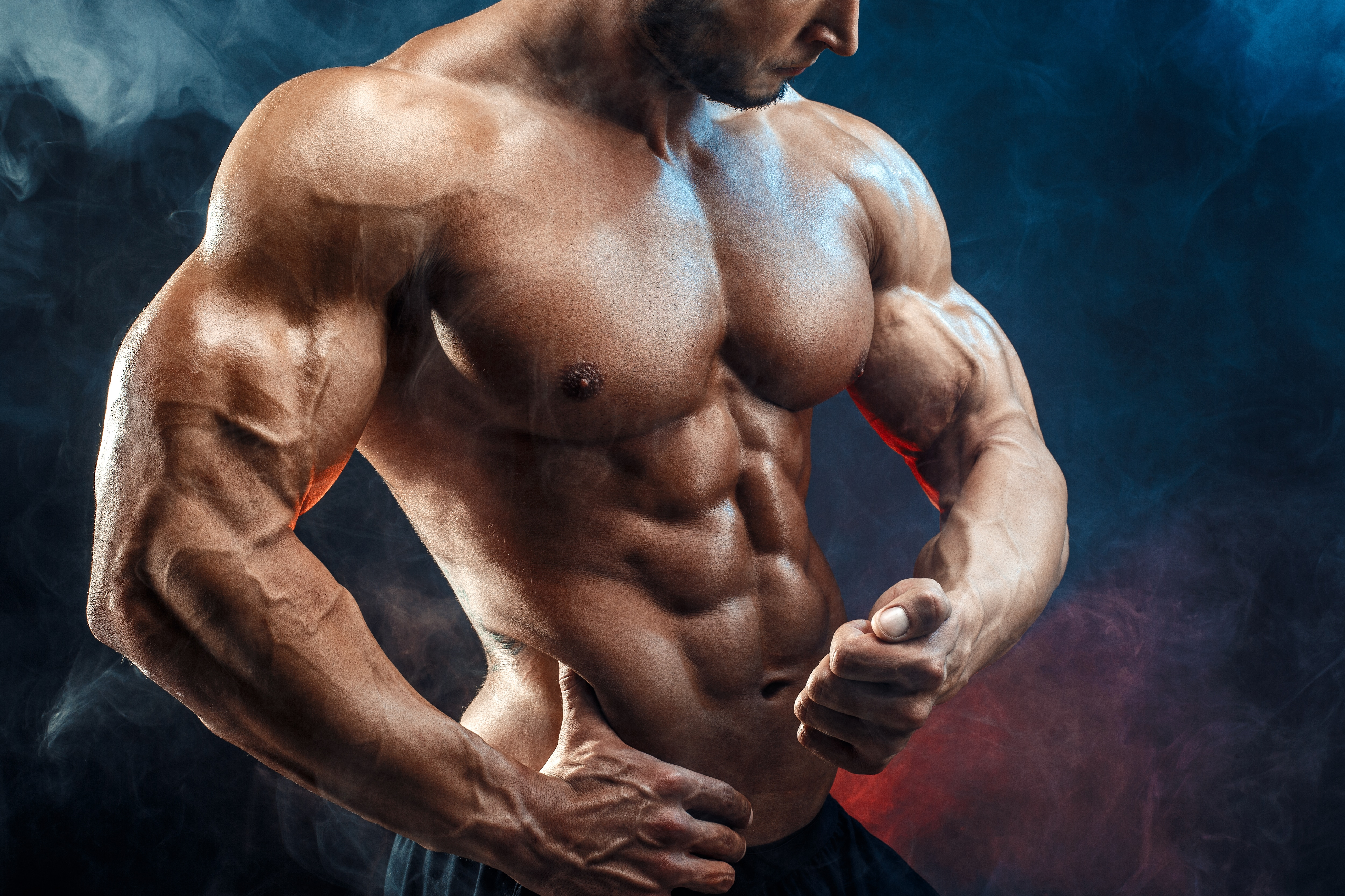 Training for the toned look is not different from the regular muscle building training (Shutterstock)