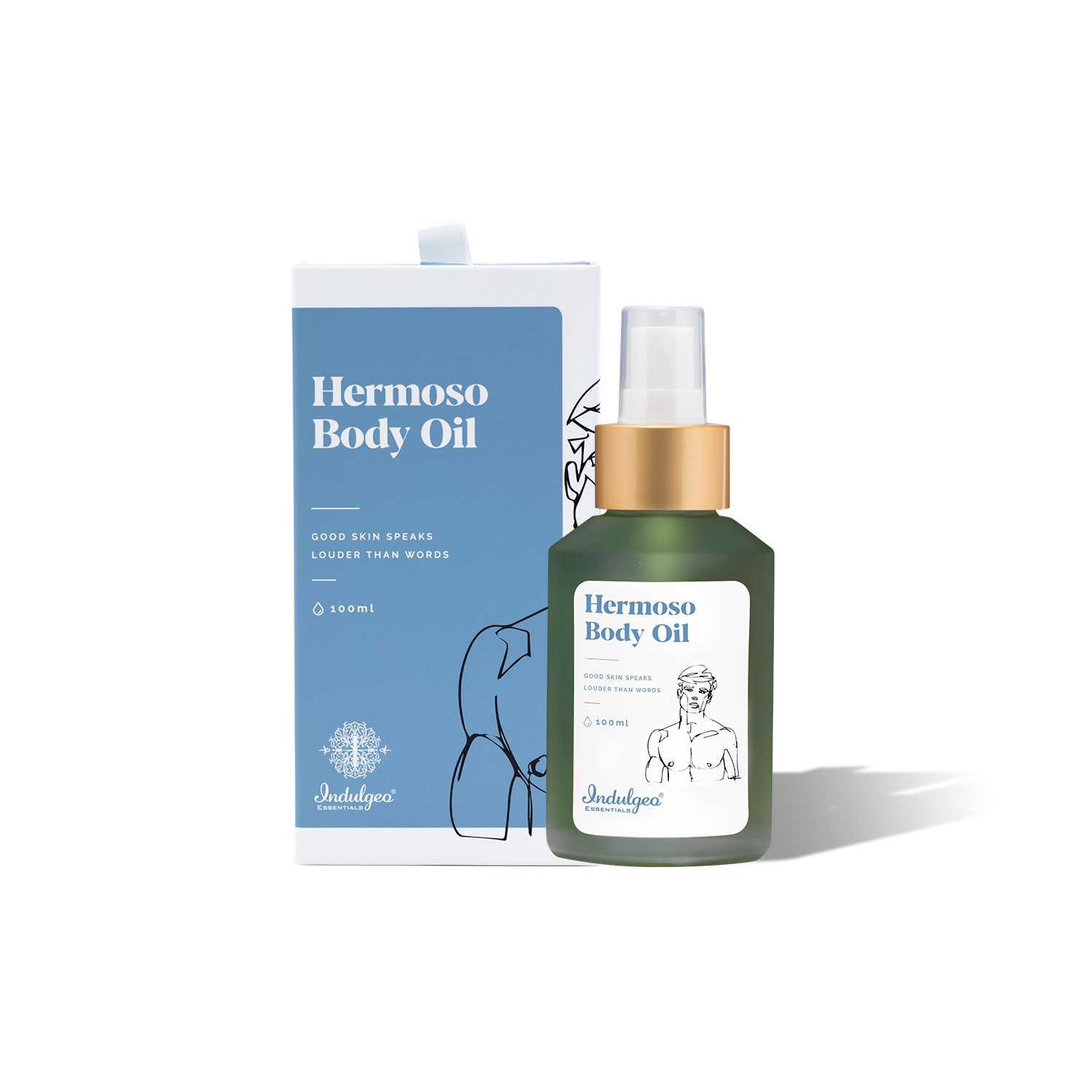 This body oil doubles as an after shower oil or an excellent massage oil