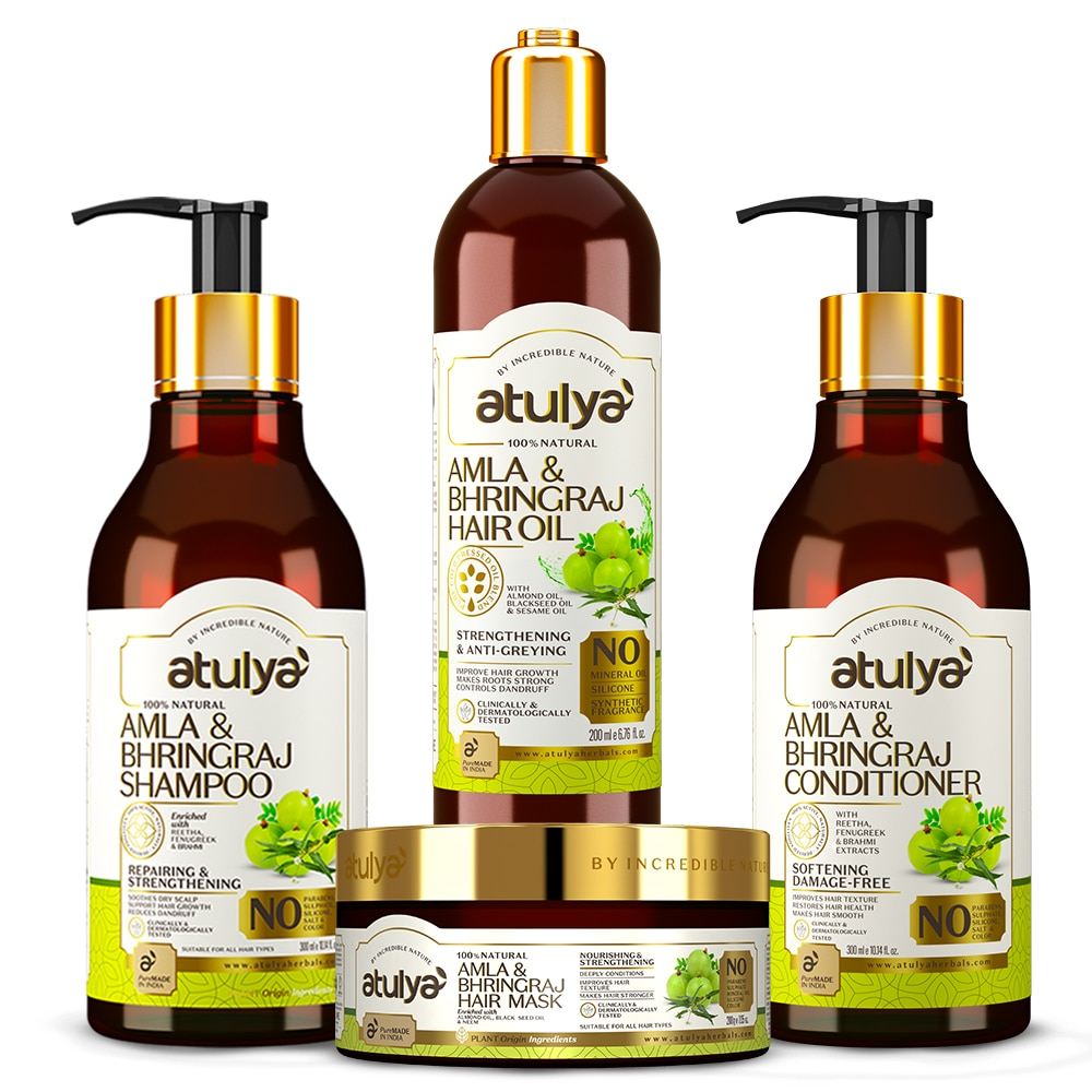 The shampoo works effectively to reduce damage to the hair and make it stronger from root to tip
