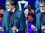 Amitabh Bachchan recreated the hook step of Jumma Chumma on KBC 13.