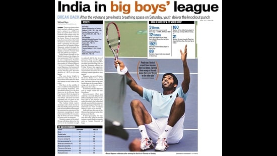 A screengrab of the Hindustan Times on September 20, 2010.