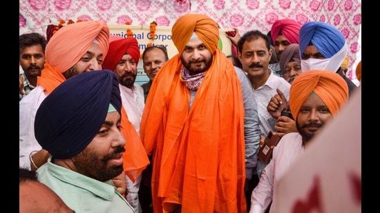 Punjab Congress President Navjot Singh Sidhu (PTI)