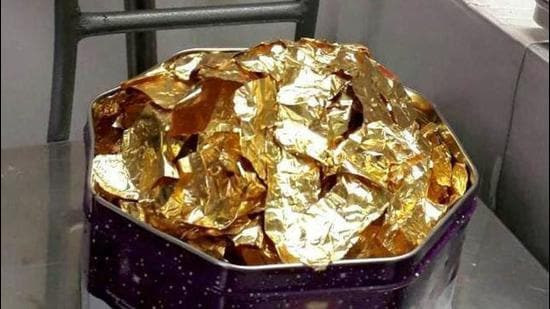 On August 24, too, customs officials had seized 1,600 kg gold worth <span class='webrupee'>₹</span>78 lakh from a man who landed at the Amritsar airport on an IndiGo flight from Sharjah. (PTI/Representative image)