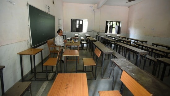 Odisha decides to reopen colleges, universities from Monday (HT Photo)