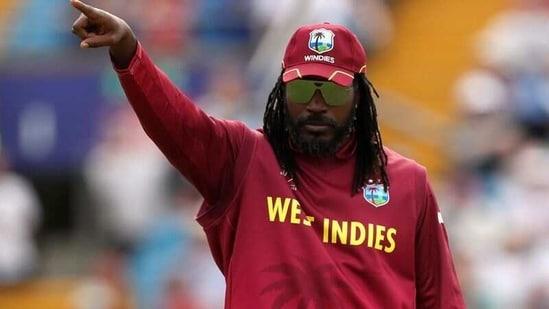 West Indies' Chris Gayle.