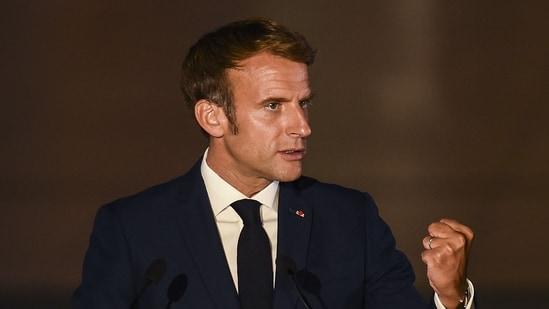 French president Emmanuel Macron(File Photo / AFP)