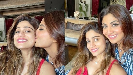 Bigg Boss OTT finalist Shamita Shetty reunited with sister Shilpa Shetty.