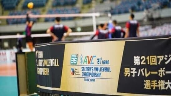 India end with ninth spot at Asian volleyball championship(TWITTER)