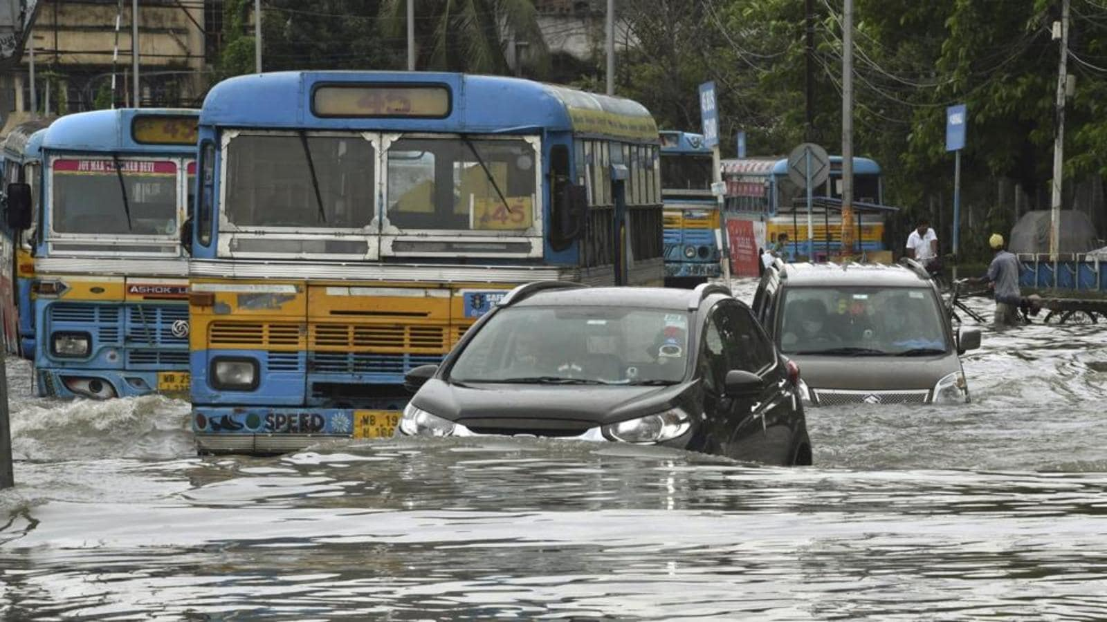 Heaviest September rain in Kolkata in 14 years, large parts of city submerged