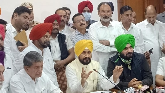 The Congress's decision to name Channi, who belongs to the Ramdasia Sikh community, assumes significance as poll-bound Punjab has a population of nearly 31.9% from the community.(PTI Photo)