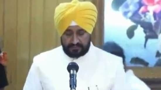 Congress leader Charanjit Singh Channi sworn in as 16th chief minister of Punjab.