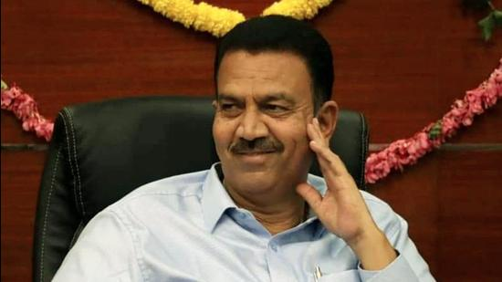 Karnataka public works minister C C Patil was responding to a question raised by senior Congress MLA K R Ramesh Kumar during question hour in the assembly (HT Photo)