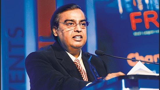 Mukesh Ambani, chairman , Reliance Industries Limited. (HT archive)