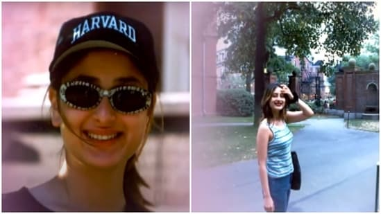 Kareena Kapoor went to Harvard University for a few months.