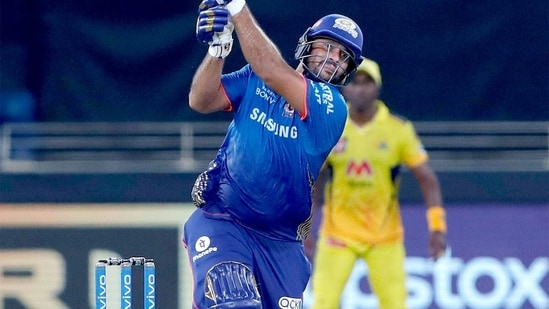 Saurabh Tiwary remained not out on 50 off 40 balls.(MI/Twitter)