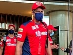 Fans were not impressed with Anil Kumble.(PBKS/Twitter)