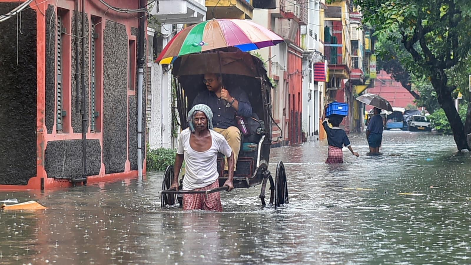 Kolkata rain: Several areas under water, highest September rainfall since 2007