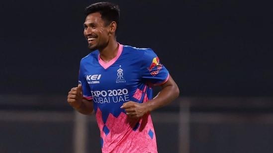 Mustafizur Rahman of Rajasthan Royals: File Photo(IPL / Twitter)