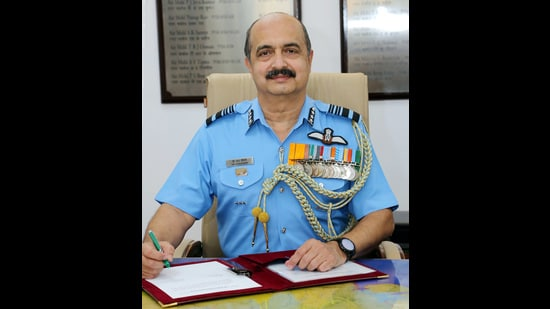 Air Marshal VR Chaudhari (Ministry of Defence via Wikimedia Commons)