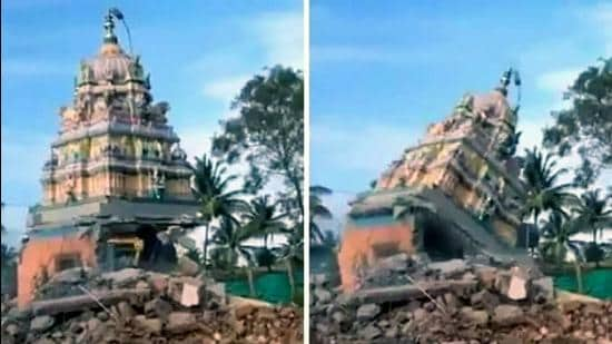 The bill was passed in the Karnataka assembly even as legislators across the aisle, including of the BJP, sought to get clarifications on the scope of the bill and its intent to protect religious structures from being demolished as per the 2009 Supreme Court order. (HT Photo)