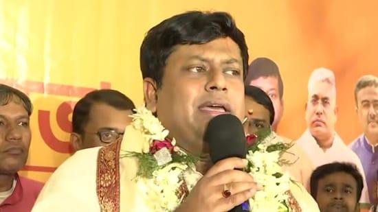 West Bengal BJP chief Sukanta Majumdar (ANI)