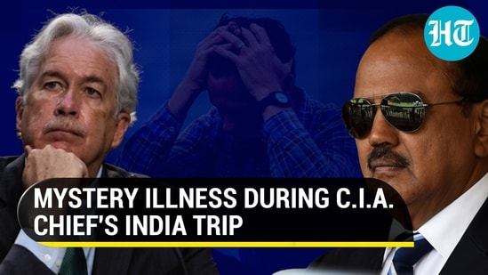 A CIA officer reported symptoms consistent with mysterious Havana Syndrome during Bill Burns' India trip to meet NSA Ajit Doval (Agencies)