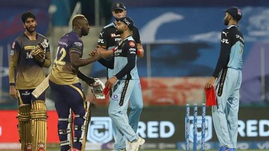 KKR beat RCB by 9 wickets iin IPL 2021 match No. 31.(IPL)