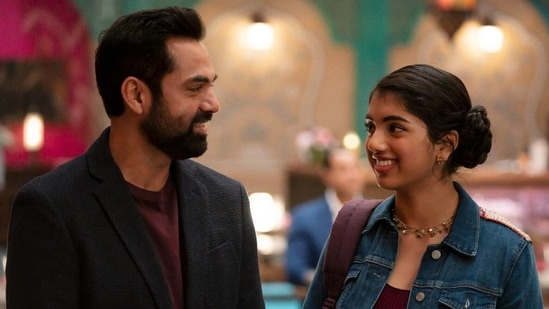 Abhay Deol with Avantika Vandanapu in a still from Spin.