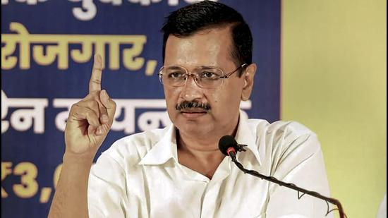 Delhi chief minister Arvind Kejriwal announced a monthly income support of <span class='webrupee'>₹</span>3,000 for unemployed youths in Goa till they land jobs. (PTI)
