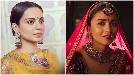 Kangana Ranaut has shared a post about Alia Bhatt's recent ad.