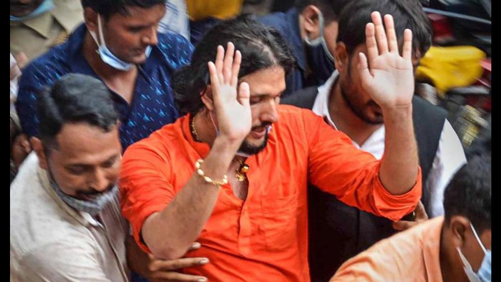 Mahant's two disciples sent to 14-day judicial custody
