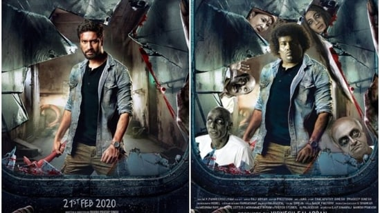 The Bhoot Part One and Pei Mama posters, side by side.