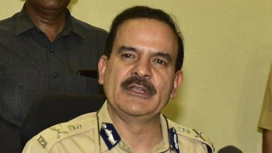 Former Mumbai top cop Parambir Singh. (Anshuman Poyrekar/HT Photo)