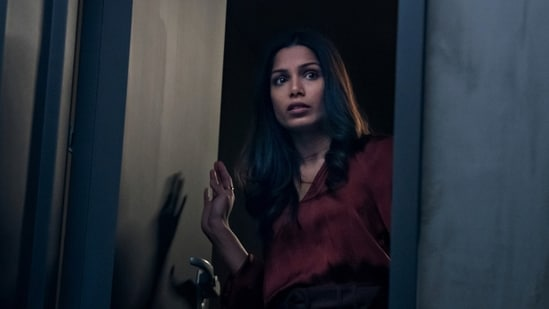 Intrusion movie review: Freida Pinto in a still from the new Netflix film.