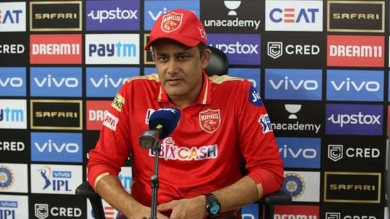 PBKS coach Anil Kumble.(IPL)