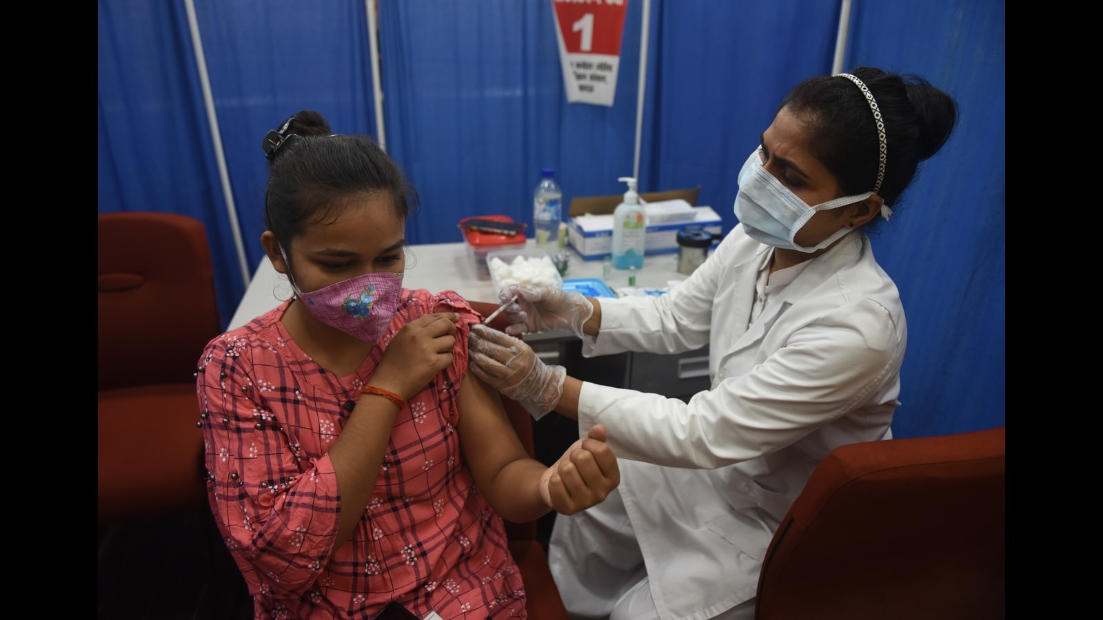 Covid: Mega vaccination drive in Lucknow on Monday