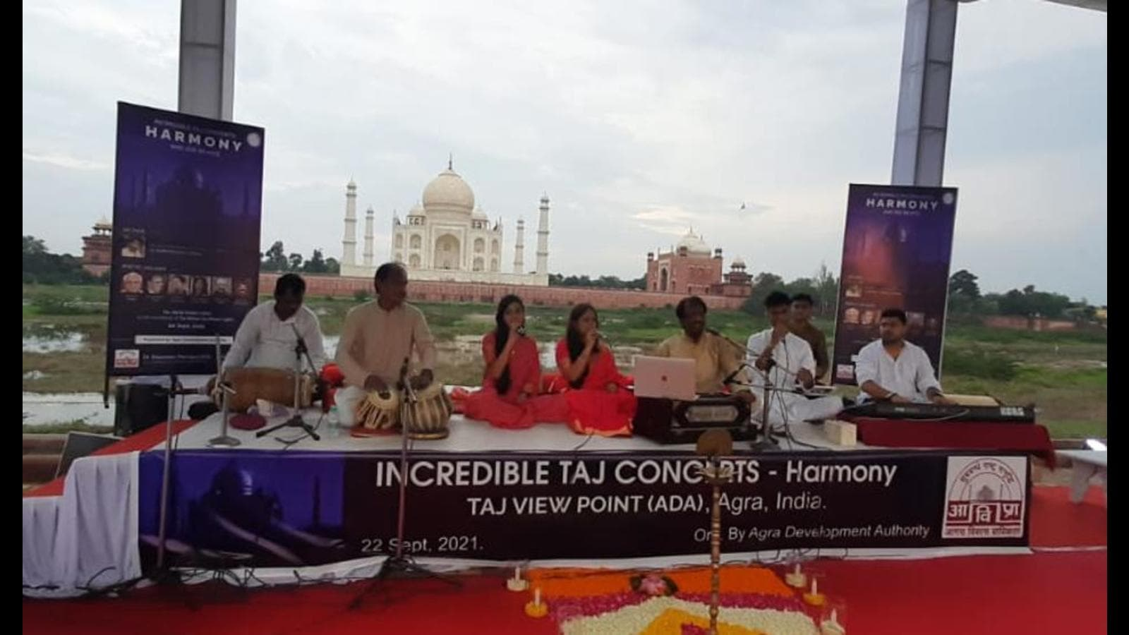 Concert near Taj Mahal sparks controversy